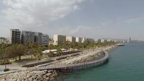 Vuelo del abejón de la playa de Limassol