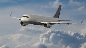 Vuelo del aeroplano Foto de archivo libre de regalías