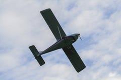 Vuelo del AI 10 de los aviones Fotos de archivo libres de regalías
