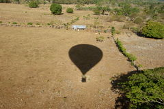 Vuelo del globo Fotos de archivo