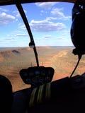 Vuelo del helicóptero Imagen de archivo libre de regalías