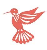 Vuelo del pájaro del tarareo Imagen de archivo libre de regalías