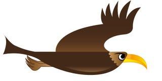 Vuelo del pájaro (Eagle) Fotos de archivo
