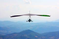 Vuelo del planeador de caída en la Italia Imagen de archivo libre de regalías