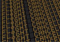 Vuelo del tablero del vuelo cancelado Imagen de archivo libre de regalías