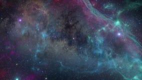 Vuelo del viaje espacial libre illustration