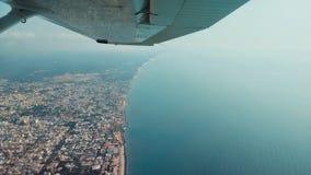 Vuelo en Pondicherry fotos de archivo
