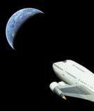 Vuelo espacial comercial Fotografía de archivo libre de regalías