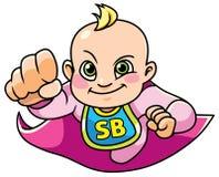 Vuelo estupendo del bebé Foto de archivo libre de regalías