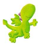 Vuelo lindo del dragón para arriba Imagen de archivo libre de regalías