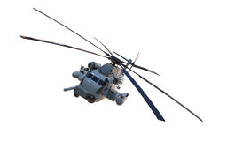 Vuelo militar del helicóptero CH-53 Fotografía de archivo