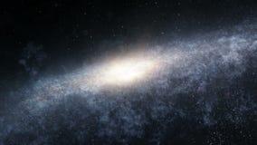 Vuelo a través de la galaxia almacen de video