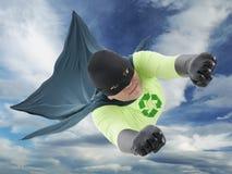 Super héroe de Eco Imágenes de archivo libres de regalías