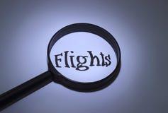 vuelos Imágenes de archivo libres de regalías