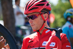 Vuelta de Christopher Horner Winner La um España 2013 Foto de Stock