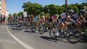 Vuelta de España 2014 - etapa 2 Imágenes de archivo libres de regalías