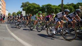 Vuelta de España 2014 - etapp 2 Royaltyfria Bilder