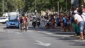 Vuelta de España Stage 2 Stock Photos