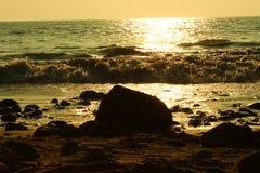 Vuelta de la marea Fotografía de archivo libre de regalías