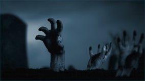 Vuelta de los muertos almacen de metraje de vídeo