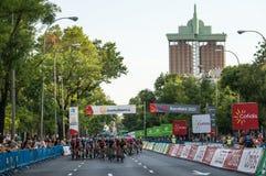 Vuelta España 2018 стоковое изображение