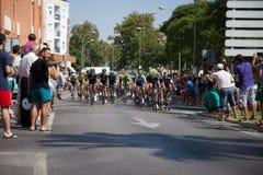 Vuelta a España - Peloton Stock Photography