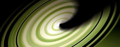 Vuelta verde Foto de archivo