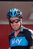 胡安在Vuelta的Antonio Flecha 2012年 免版税库存图片