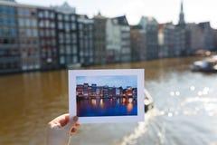 Vuelva a Amsterdam fotografía de archivo libre de regalías