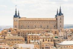 Vues à la ville historique de Toledo, Espagne photo stock
