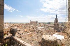 Vues à la ville historique de Toledo, Espagne photographie stock