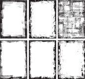 Vues élevées de grunge de groupe Photographie stock