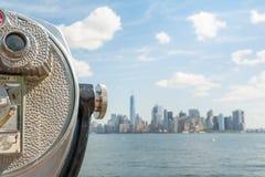 Vues étonnantes pour abaisser Manhattan Photo libre de droits