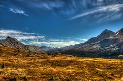 Vues alpines Photo libre de droits