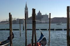 Vues au-dessus de la lagune à Venise Photographie stock