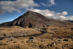 Vues autour de la vallée d'Ogwen Image libre de droits