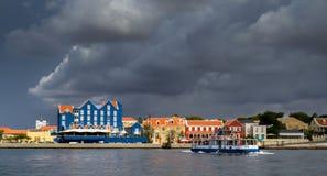 Vues autour de Punda - ferry Photo stock