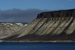 Vues autour de Svalbard Image libre de droits