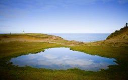 Vues côtières Image libre de droits