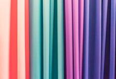 Vues colorées du Curaçao de boutique de tissu photographie stock libre de droits