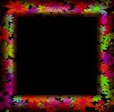 Vues décorées des fleurs colorées Photo libre de droits