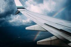 Vues d'arc-en-ciel image libre de droits