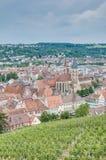 Vues d'Esslingen AM le Neckar du château, Allemagne photographie stock libre de droits