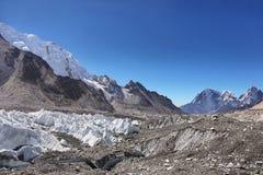 Vues de camp de base d'Everest Photographie stock