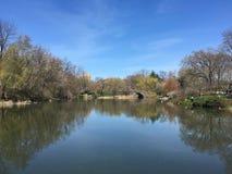 Vues de Central Park Images libres de droits