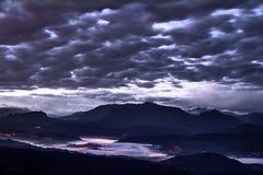 Vues de Degollada de Posada De Llanera images stock