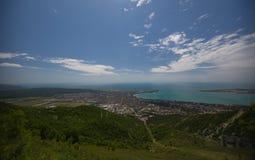 Vues de Gelendzhik de la montagne Région de Krasnodar Russie 22 05 2016 Image libre de droits