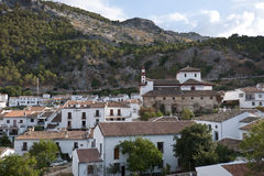 Vues de Grazalema, Cadix. Photo stock