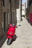 Vues de la Croatie Rues d'île Hvar Image stock