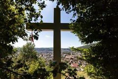 Vues de la montagne Sulperg à Wettingen Photographie stock libre de droits